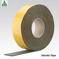 Лента каучуковая Vibrofix Tape 75х6мм, 15м/рул