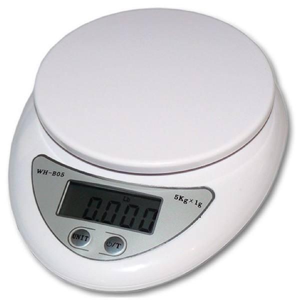 Весы кухонные  WH-B05 (5 кг)