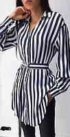 Сукня сорочка в смужку