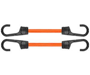 Резиновый шнур с крючками, 2 х 80см, PVC BUNGEE CORD HOOK