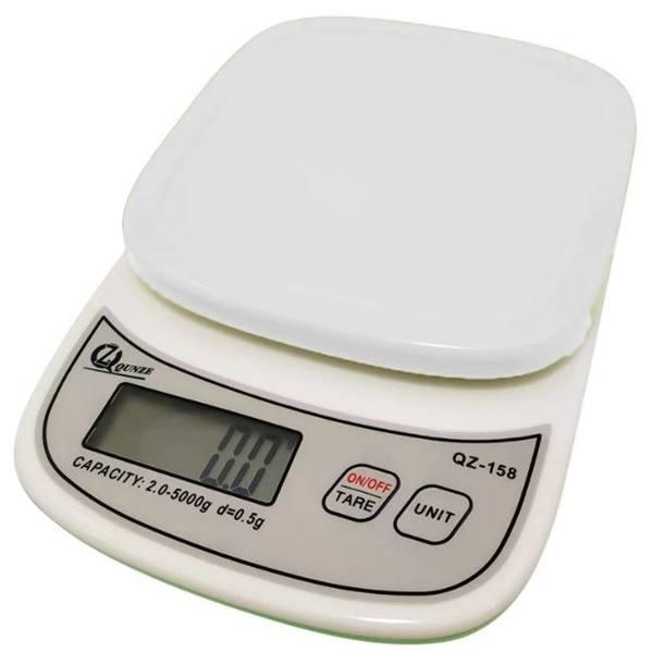 Весы кухонные с чашей QZ-158 (10кг)