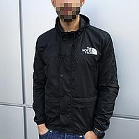 Куртка ветровка мужская черная The North Face