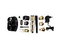 Аккумуляторный Триммер-Машинка для Стрижки Волос Тела, Бороды, Носа, Ушей, Головы Rozia HQ 5500 7в1