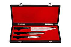 Набор Из 3 Кухонных Ножей «Поварская Тройка» Samura DAMASCUS (SD-0220/G-10)