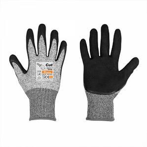 Перчатки с защитой от порезов, CUT COVER 4, полиуретан, размер 10, RWCC4SN10