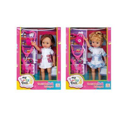 "Кукла ""Доктор"" 8802 (36шт/2) 2вида, с набором ""доктора"", в кор.36*25*8, фото 2"