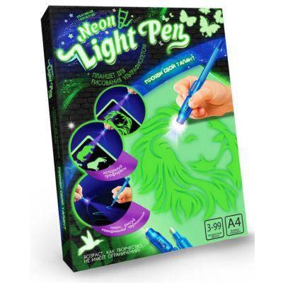 """Набор Рисование светом """"Neon Light Pen"""" укр. /10, фото 2"""