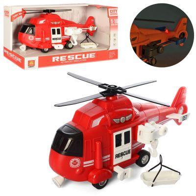 Вертолет WY750B инер-й, 1:16, 28см, звук,свет, бат(таб), в кор-ке