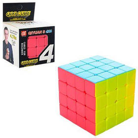 Кубик Рубика EQY506 6-6-6 см, 4х4, в кор-ке 7-11-7 см