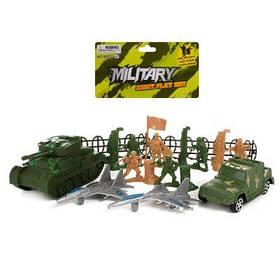 Комбат 0055-S63 военная техника, солдатики, забор, в кульке 17-24-5 см