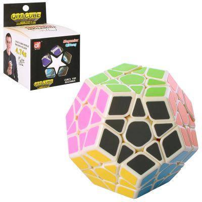 Кубик EQY516 многогранник, 8 см, в кор-ке 9-9-12,5 см, фото 2