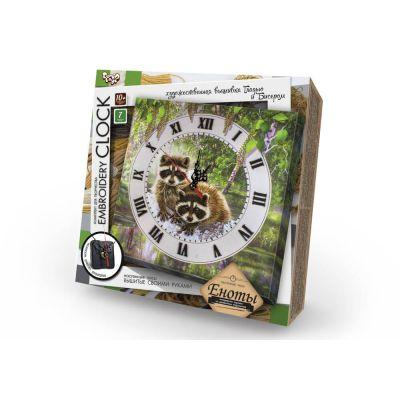"""Набор Часы """"Embroidery Clock"""" вышивка гладью  /10"""