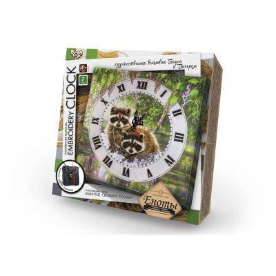 """Набор Часы """"Embroidery Clock"""" вышивка гладью  /10, фото 2"""
