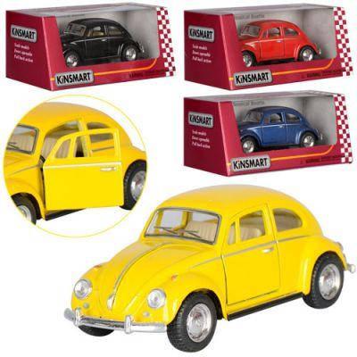 Машинка KT 5057 W металл,инер-я 1:32,откр.двери,рез.колеса, 4 цвета, в кор-ке 16-7-8 см, фото 2