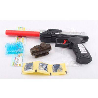 Пистолет 859C-1 31см, водяные пули, в кульке 16-23-4см, фото 2