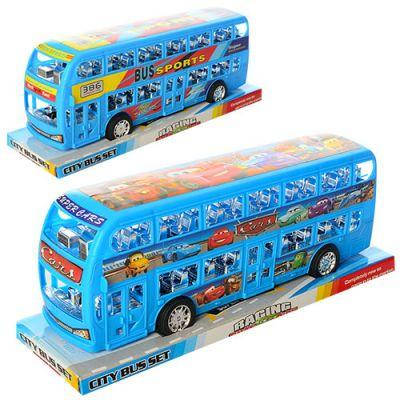 Автобус B2915-18-3 инер-й, 29 см, 2 вида (1-ТЧ), в слюде 31,5-12-9,5 см, фото 2