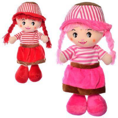 Кукла X15980 34 см, мягконабивная, 2 цвета, в кульке 16-34-10 см, фото 2