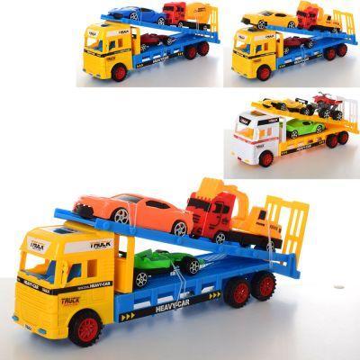 Трейлер W282-1-2-3 инер-й, 32 см, транспорт 3 шт, от 10,5 см, 3 вида, в кульке 32-9-8 см