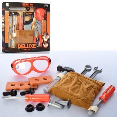 Набор инструментов 3288-D9-10 молоток, гаеч. ключи, отвертка, 2 вида, в кор-ке 36,5-29,5-5,5 см