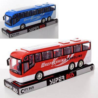 Автобус 828-A1-A2 инер-й, 2 цвета, в слюде 33-13-9 см, фото 2
