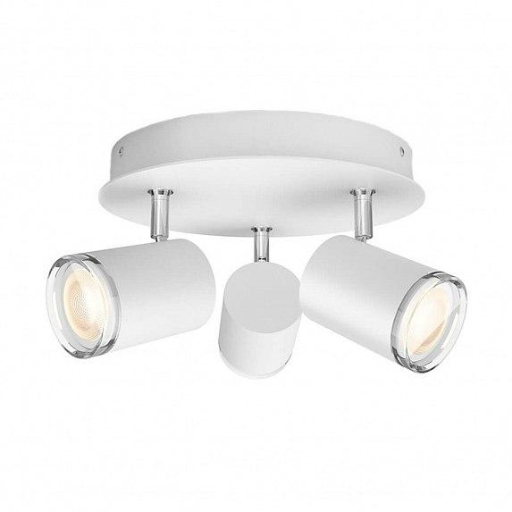 Смарт-светильник PHILIPS Adore Hue plate/spiral white 3x5.5W 230V (34362/31/P7)