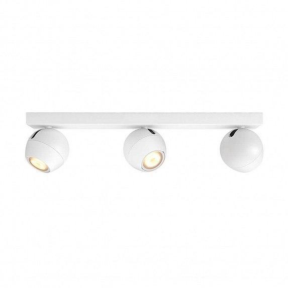 Смарт-светильник PHILIPS BUCKRAM bar/tube white 3x5.5W 240V (50473/31/P7)