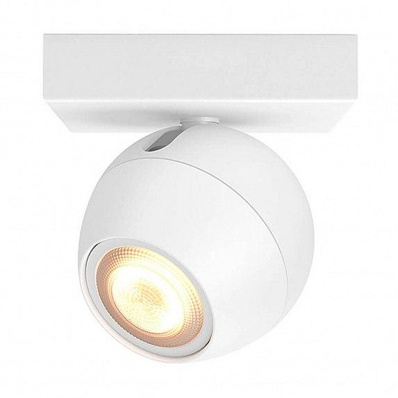 Смарт-светильник PHILIPS BUCKRAM single spot white 1x5.5W 240V (50471/31/P7)