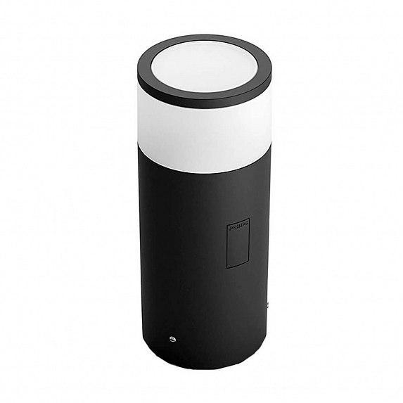 Смарт-светильник PHILIPS Calla pedestal black 1x8W SELV (17423/30/P7)