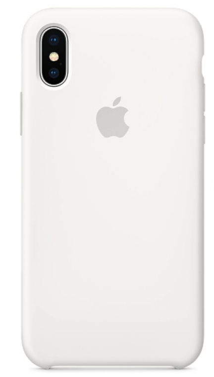 Задняя накладка Hi-Copy Silicone Case APPLE IPHONE X | XS (№9 WHITE)
