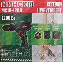 Сетевой шуруповерт Минск МСШ-1200 (1200 Вт)