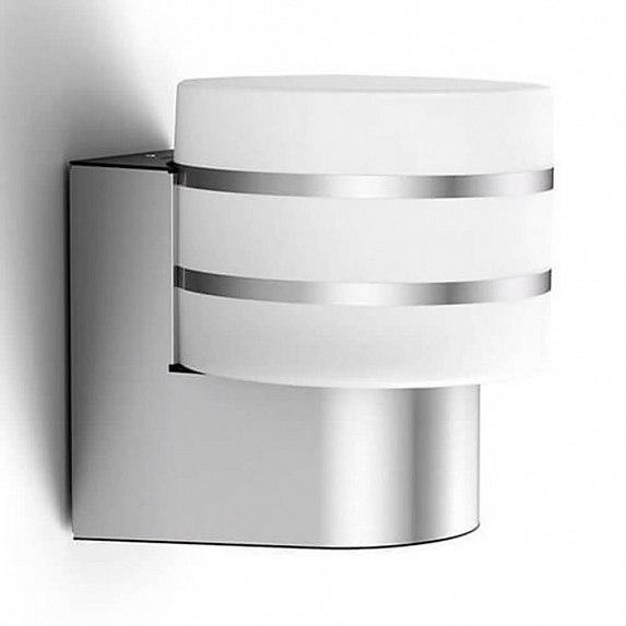Смарт-светильник PHILIPS Tuar wall lantern inox 1x9.5W 230V (17404/47/P0)