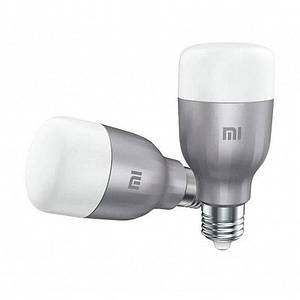 Смарт-лампочка Xiaomi Mi LED Smart Bulb (White and Color) 2-Pack (GPX4025GL)