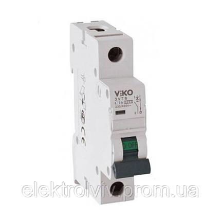 Автоматичний вимикач VIKO C 1/06, фото 2