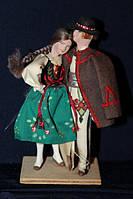 Кукла в национальном костюме 940060 кукла ручная работа Краков польша пара 14 см