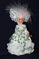 Кукла в национальном костюме 940193 с зонтом 18 см