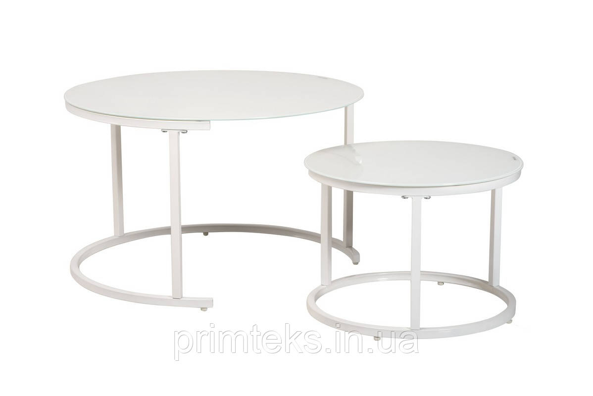 Комплект журнальных столов CS-25 белый