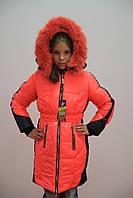 Теплая зимняя куртка для девочки опт, фото 1