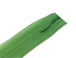 Молния потайная нераз 50см S-065 зеленый ZIP