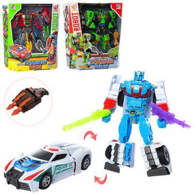 Трансформер 899-38ABC 21см,робот+транспорт,3 вида, в кор-ке 30,5-35,5-
