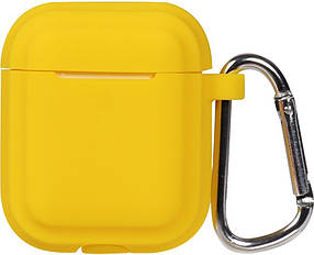 Кейс TOTO Plain Cover With Stripe Style Case AirPods Yellow