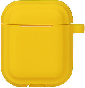 Кейс TOTO Plain Cover With Stripe Style Case AirPods Yellow, фото 2