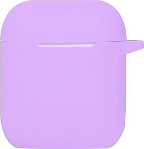Кейс TOTO 2nd Generation Silicone Case AirPods Light Purple, фото 2