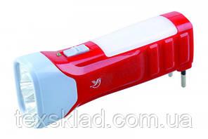 Фонарик лед аккумулятор LED 4+10
