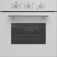 Sistema 206W (600 мм.) электрический, встраиваемый духовой шкаф цвет белое закаленное стекло, фото 1