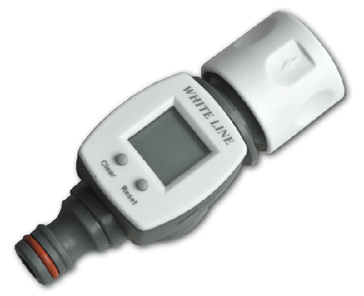 WHITE LINE Счетчик воды, коннектор/ниппель, WL-3100, фото 2