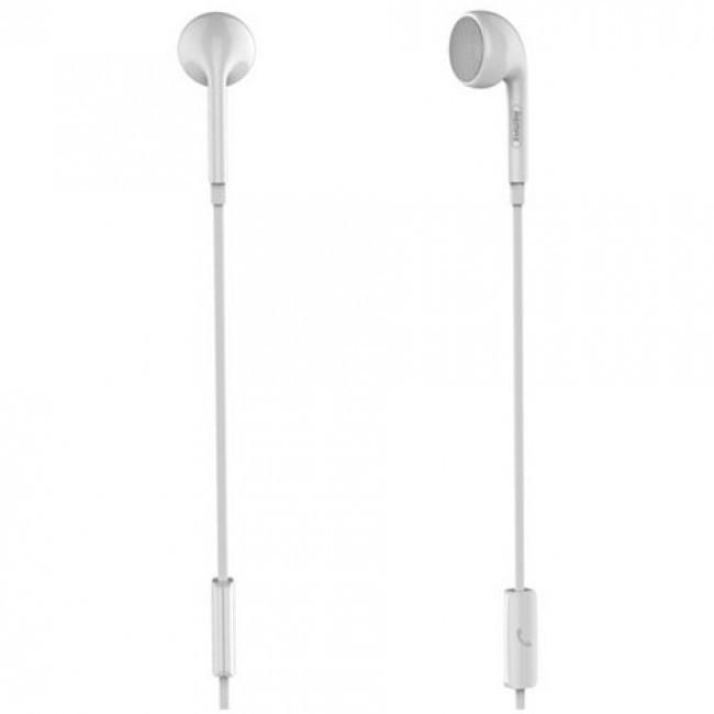 Наушник С Микрофоном Remax Rm-101 Earphone White