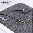 Наушник С Микрофоном Remax Rm-101 Earphone White, фото 3