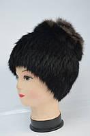Шапка-кубанка хутряна зимова жіноча, фото 1