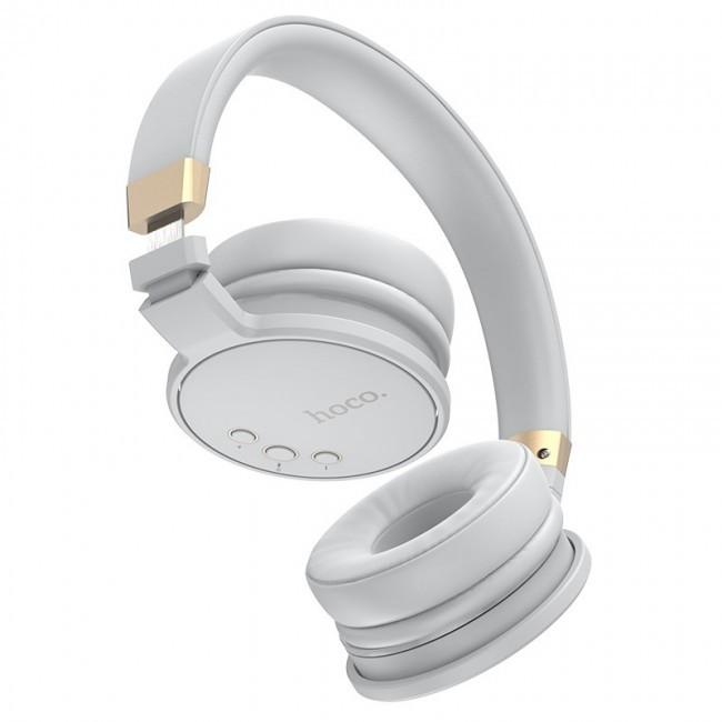 Bluetooth Наушники Hoco W26 Enjoyment Gray