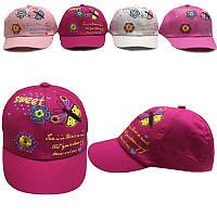 Кепка для девочки (размер 46) 4 цвета                                                               , фото 1